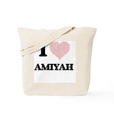 Cute Amiyah Tote Bag