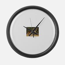 Beautiful Buck Large Wall Clock
