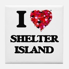 I love Shelter Island New Jersey Tile Coaster