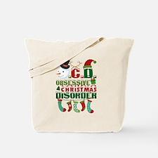 Christmas yard Tote Bag