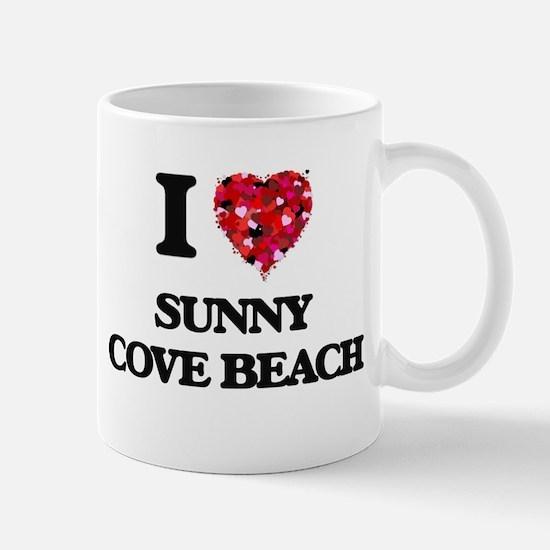 I love Sunny Cove Beach California Mugs