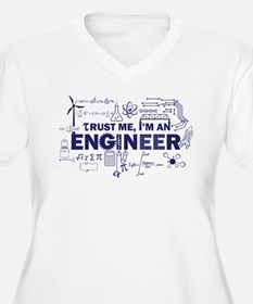 Trust Me I'm An Engineer Plus Size T-Shirt