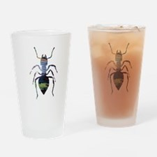 Colorful Ant painting Drinking Glass