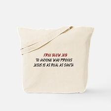 Free Blow Job Tote Bag
