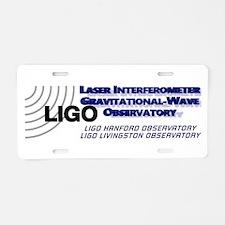 LIGO Aluminum License Plate