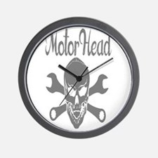 Motor Head Wall Clock