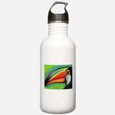 Toucan Parrot Water Bottle