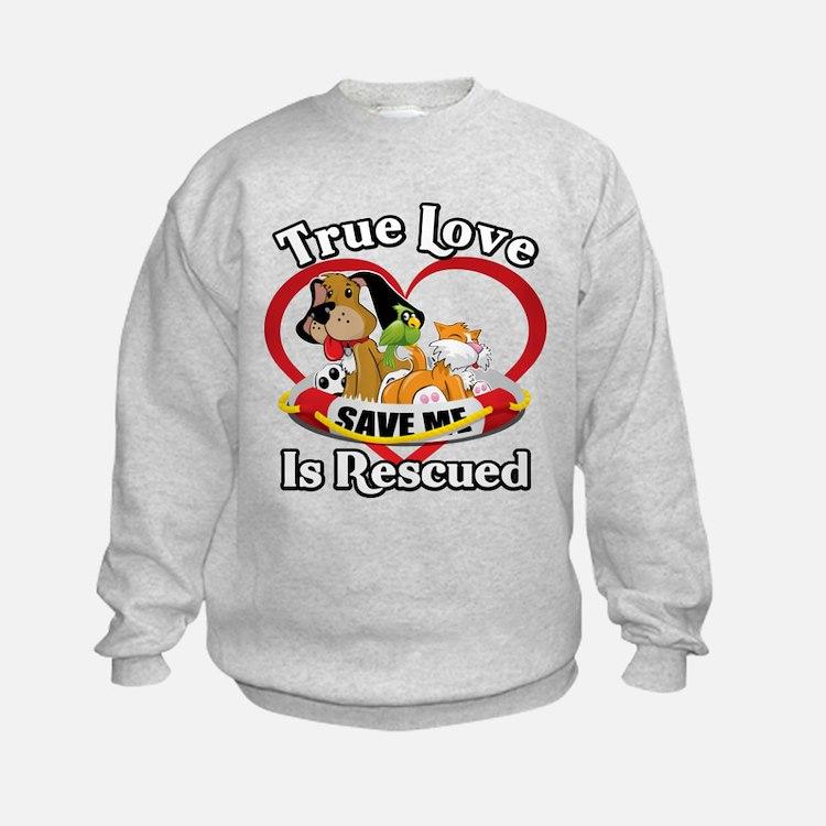 Cute Animal rescue Sweatshirt