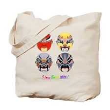 Cute Face mask Tote Bag