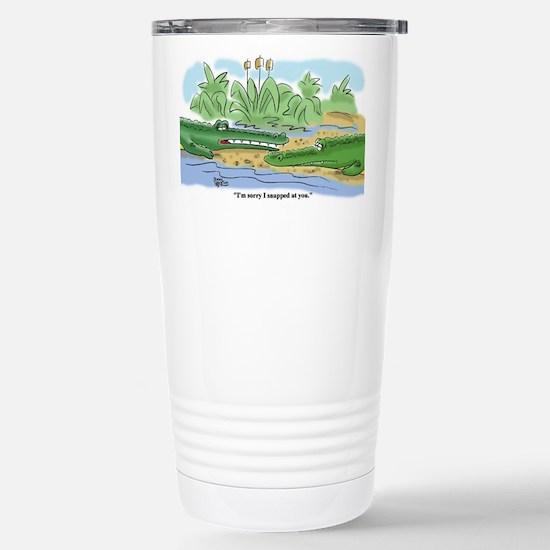 Cute Apologies sorry and forgive me designs Travel Mug