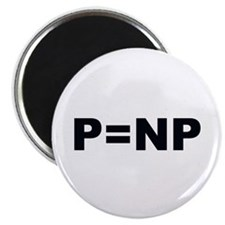 """P=NP 2.25"""" Magnet (10 pack)"""