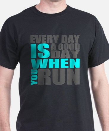 Funny Running in the usa you might be a runner if T-Shirt