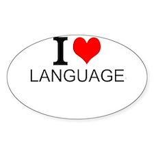 I Love Languages Decal