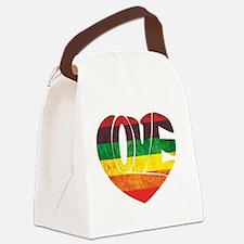 Unique Gay pride Canvas Lunch Bag