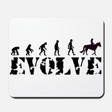 Horse Rider Caveman Mousepad