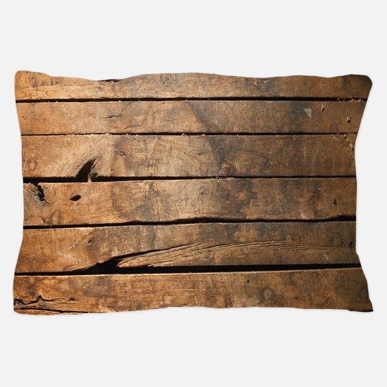 Wood Pillow Case