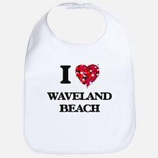 I love Waveland Beach Mississippi Bib