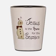 Unique Religious christmas Shot Glass
