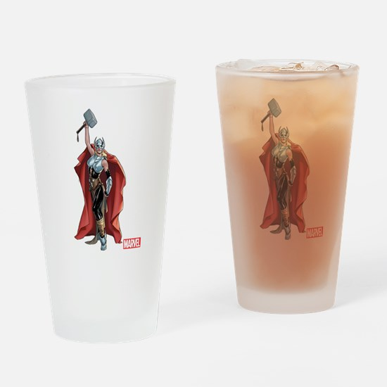 She Thor Drinking Glass