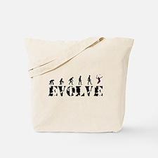 Tennis Caveman Tote Bag