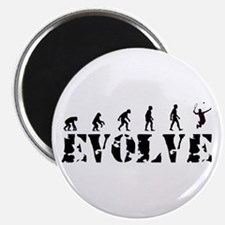 Tennis Caveman Magnet