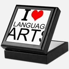 I Love Language Arts Keepsake Box