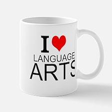 I Love Language Arts Mugs