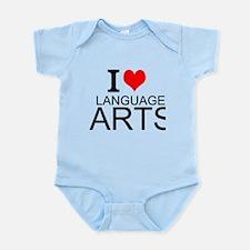 I Love Language Arts Body Suit