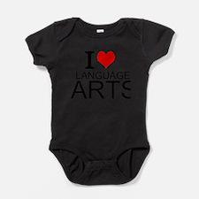 I Love Language Arts Baby Bodysuit