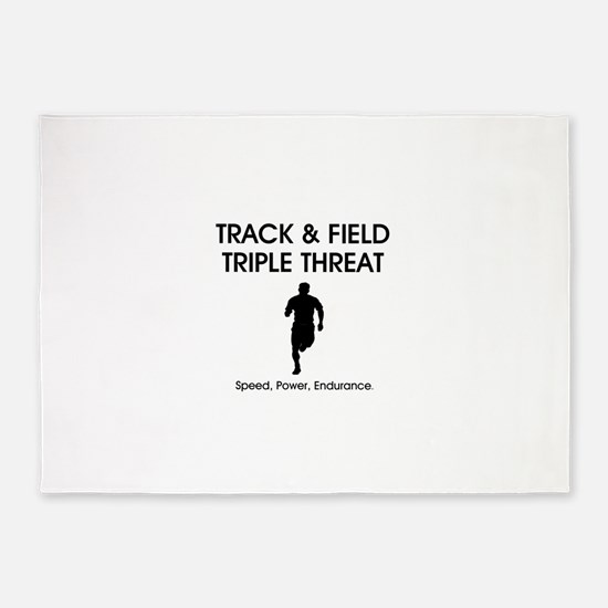 TOP Track and Field 5'x7'Area Rug