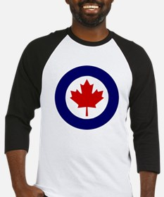 Cute Canuck maple leaf red Baseball Jersey