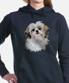 Funny Shih tzu Women's Hooded Sweatshirt