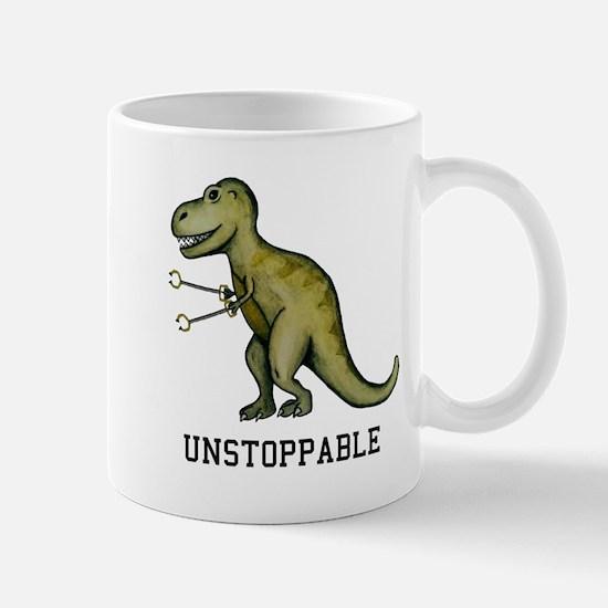 T-Rex Unstoppable Mugs