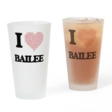 Unique Bailee Drinking Glass