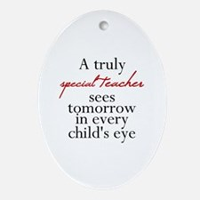 Cute Funny religious Oval Ornament