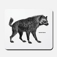 Spotted Hyena Mousepad