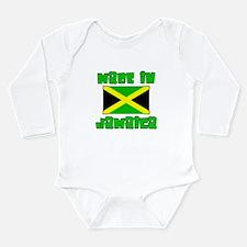 Funny Rasta Long Sleeve Infant Bodysuit