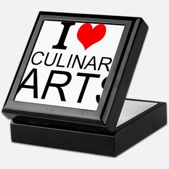 I Love Culinary Arts Keepsake Box