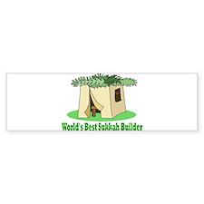 World's Best Sukkah Builder Bumper Bumper Sticker