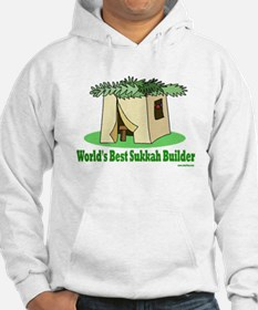 World's Best Sukkah Builder Hoodie