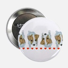 "Jack Russell Puppies! 2.25"" Button (10 pack)"