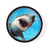 Shark Wall Clocks