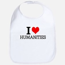 I Love Humanities Bib