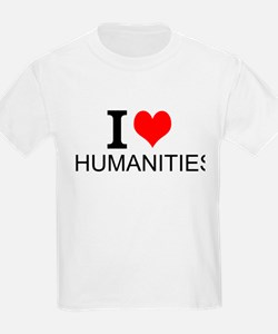 I Love Humanities T-Shirt