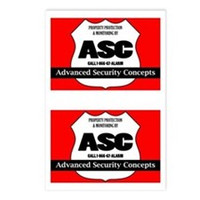 ASC Alarm Security System Sign (8 Pack)