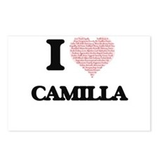I love Camilla (heart mad Postcards (Package of 8)