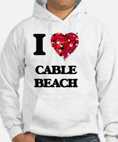 I love Cable Beach New Hampshire Hoodie