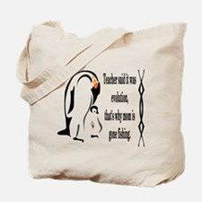 Emperor Penguin is a Stay at Home Dad Tote Bag