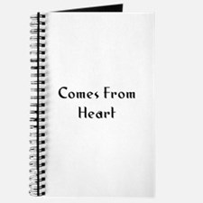 Comes From Heart Journal