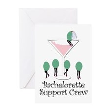 Bachelorette Support Crew Greeting Card